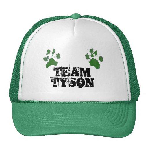 Gorra del camionero de Tyson del equipo