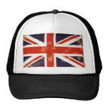 Gorra del camionero de Union Jack del vintage