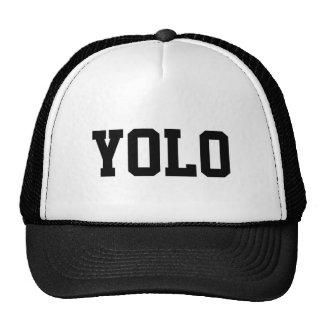 Gorra del camionero de YOLO