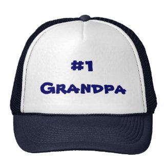Gorra del camionero del abuelo del número uno