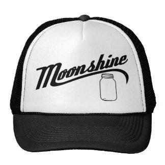 Gorra del camionero del alcohol ilegal