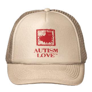 Gorra del camionero del amor del autismo