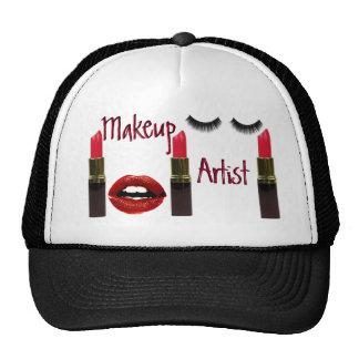 Gorra del camionero del artista de maquillaje