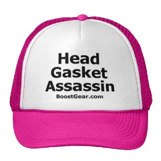 Gorra del camionero del asesino de la junta princi