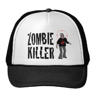 Gorra del camionero del asesino del zombi