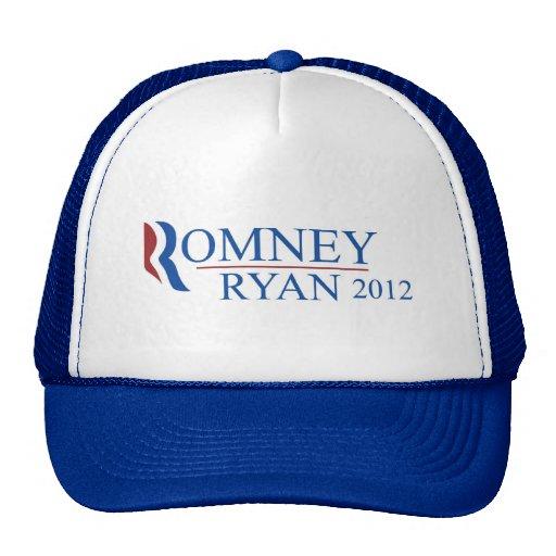 Gorra del camionero del azul de Romney Ryan 2012