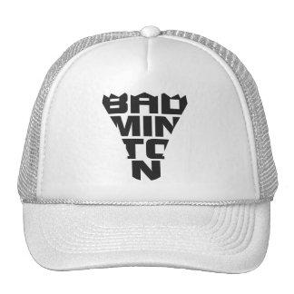 Gorra del camionero del bádminton