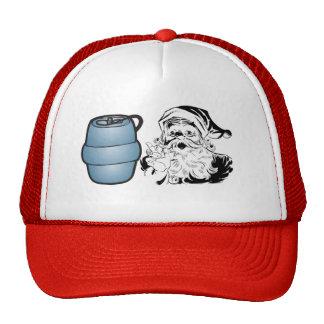 Gorra del camionero del barrilete de Santa