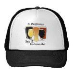 Gorra del camionero del brewmaster del caballero