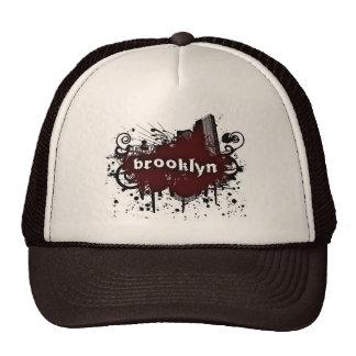 Gorra del camionero del Brooklyn-Grunge