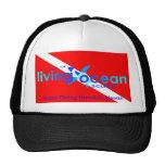 Gorra del camionero del buceo con escafandra