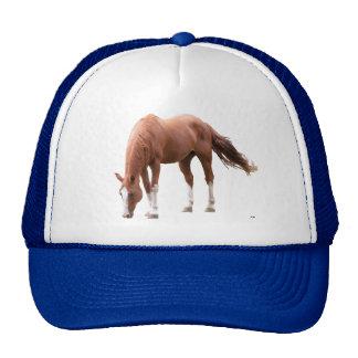 Gorra del camionero del caballo del alazán