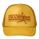 Gorra del camionero del campeón de Dodgeball del v
