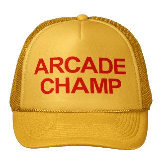Gorra del camionero del campeón de la arcada