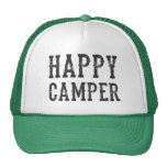 Gorra del camionero del campista contento
