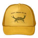 Gorra del camionero del cangrejo de Gadsden