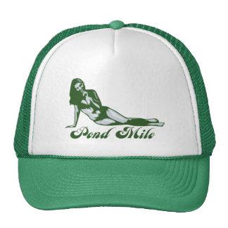 Gorra del camionero del chica de la milla de la ch