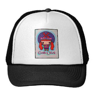 Gorra del camionero del chica del gótico de Kawaii