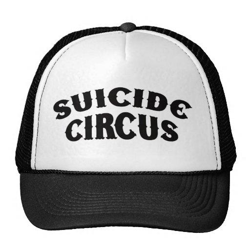 Gorra del camionero del circo del suicidio