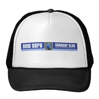 Gorra del camionero del club de la vespa de Nueva