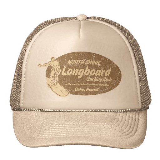 Gorra del camionero del club que practica surf