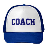 Gorra del camionero del COCHE {azul real}