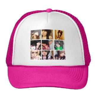 Gorra del camionero del collage de Kassi Kandi