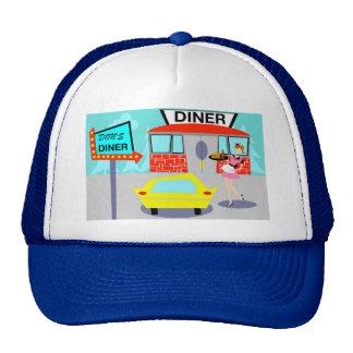 gorra del camionero del comensal de los años 50