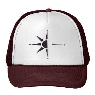 Gorra del camionero del compás de Sun