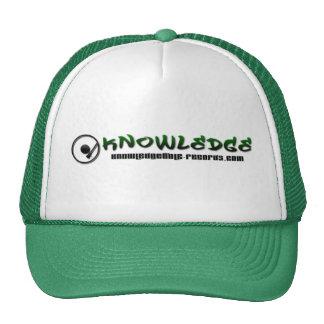 Gorra del camionero del conocimiento