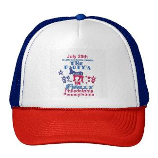 Gorra del camionero del convenio Democratic