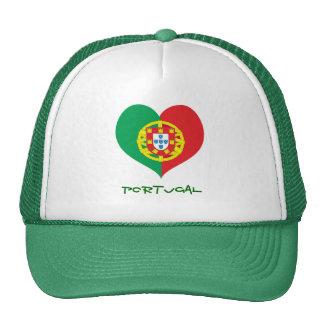 Gorra del camionero del corazón de Portugal