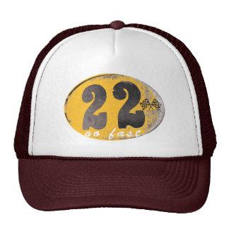 Gorra del camionero del corredor del café de Joe M