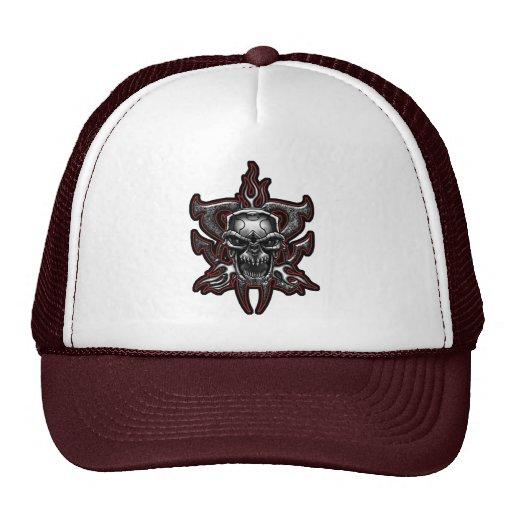 Gorra del camionero del cráneo del adaptador