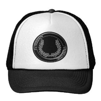Gorra del camionero del cromo del cártel
