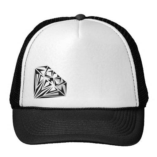 Gorra del camionero del diamante
