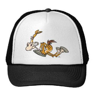 Gorra del camionero del dibujo animado del poder d
