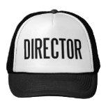 Gorra del camionero del director