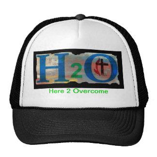 Gorra del camionero del diseñador de H2O