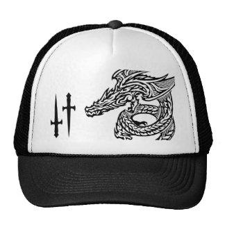 Gorra del camionero del dragón del ala