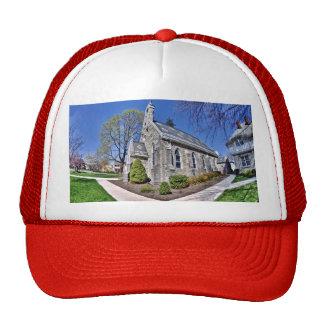 Gorra del camionero del edificio