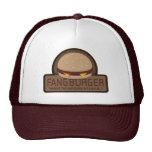 Gorra del camionero del empleado de Fangburger