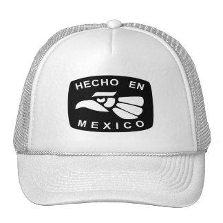 gorra del camionero del en México del hecho