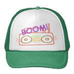 Gorra del camionero del equipo estéreo portátil