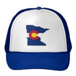 Gorra del camionero del esquema de Minnesota de la