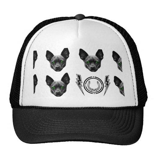 gorra del camionero del estilo del perrito