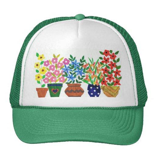 """Gorra del camionero del """"flower power"""""""