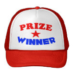 Gorra del camionero del ganador del premio