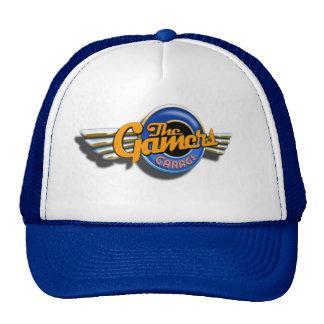 Gorra del camionero del garaje de los videojugador