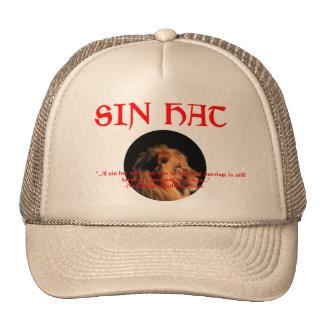 Gorra del camionero del gorra del pecado
